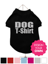 Dog T-Shirt - A fun, funky and distinct dog t-shirt. Made from high quality, fine knit gauge, 100% cotton and features a cotton-flex ''xxxDesignxxx'' design.