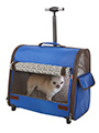 Blue Travel Carrier
