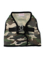 Camouflage Soft Mesh Velcro Secure Vest Harness