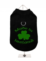 ''St. Patrick: Made In Ireland'' Harness-Lined Dog T-Shirt